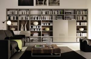 недорогой книжный шкаф